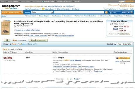 Ask Without Fear! is now sold for $142.96