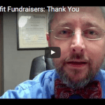 A thank you to nonprofit fundraisers
