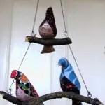 DIY Vogelmobile nähen (inkl Schnittmuster)