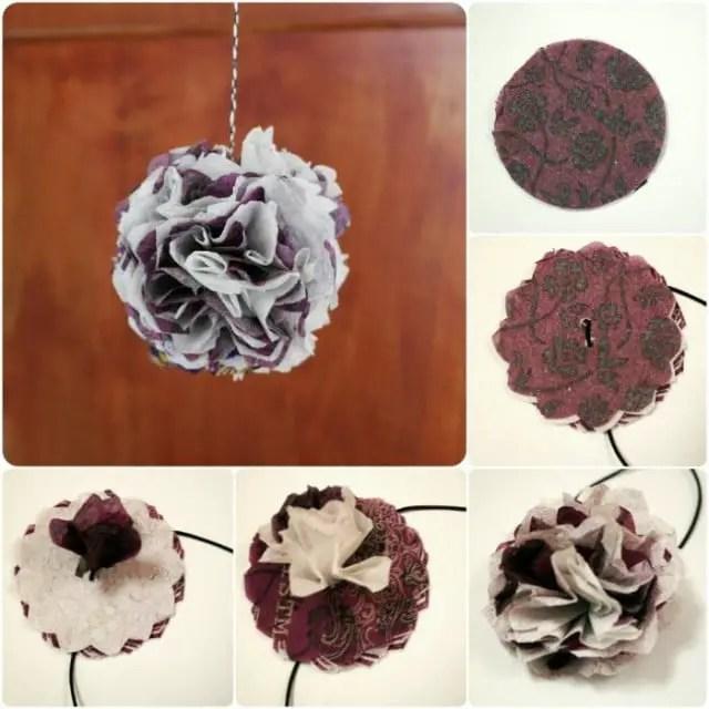 diy anleitung papierblumen aus servietten anleitungen. Black Bedroom Furniture Sets. Home Design Ideas