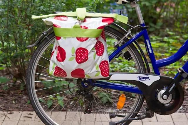 Fahrradtaschen selber nähen nach einfachem Schnittmuster