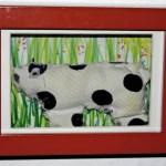 Die Kuh – Meine erste Näharbeit
