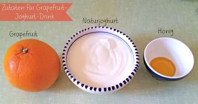 schnell und lecker grapefruit joghurt drink essen getr nke fr hst ck joghurt drink rezept. Black Bedroom Furniture Sets. Home Design Ideas