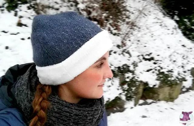 Gratis Schnittmuster für Mütze für Damen