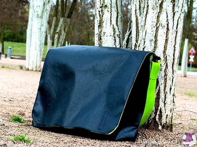 Nähanleitung - Messenger Bag / Umhängetasche