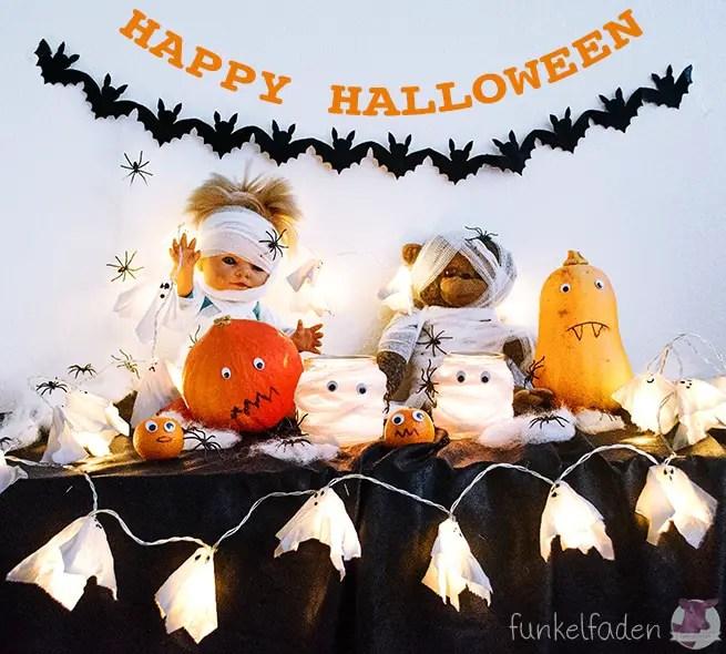 DIY - Last Minute Halloween Dekoration