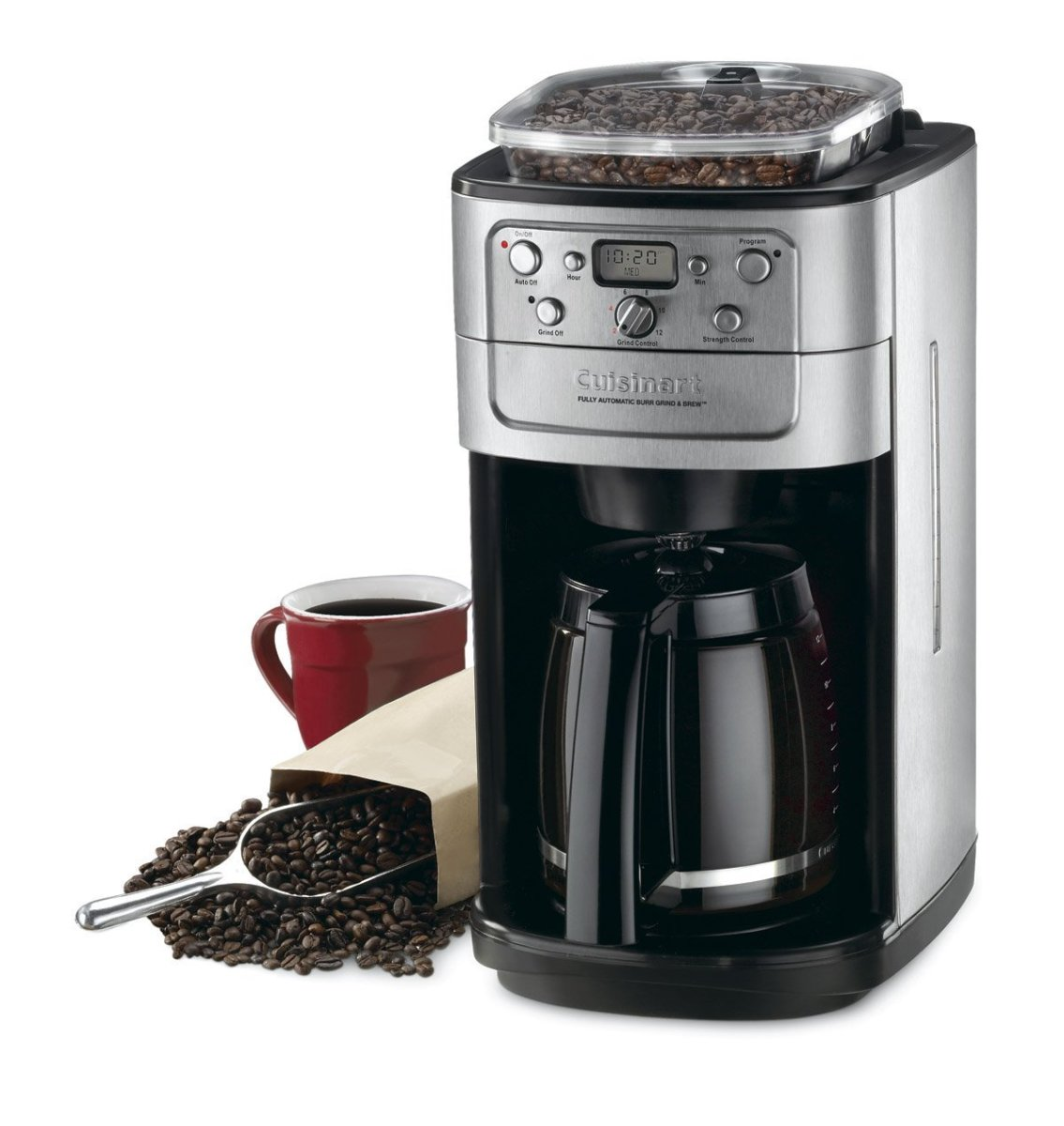 The best damn grind and brew coffee maker (and coffee beans) on Earth