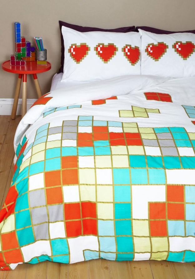tetris bedding