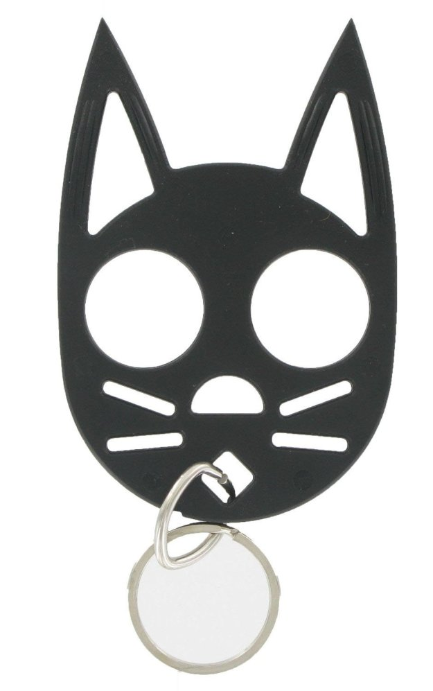 cat personal safety keychain