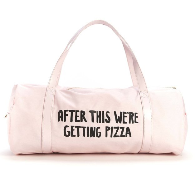 after-this-were-getting-pizza-gym-bag
