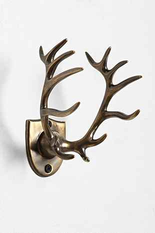 The stag toothbrush holder from Urban Outfitters.  You might remember this from the Game of Thrones bathroom!