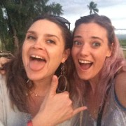 Ariel and me in Maui, 2014