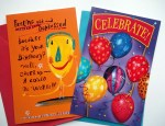 Glitter Bomb Card for Birthday