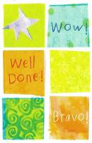 Wow Well Done Bravo Congratulations Card