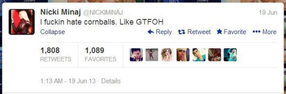 I hate cornballs