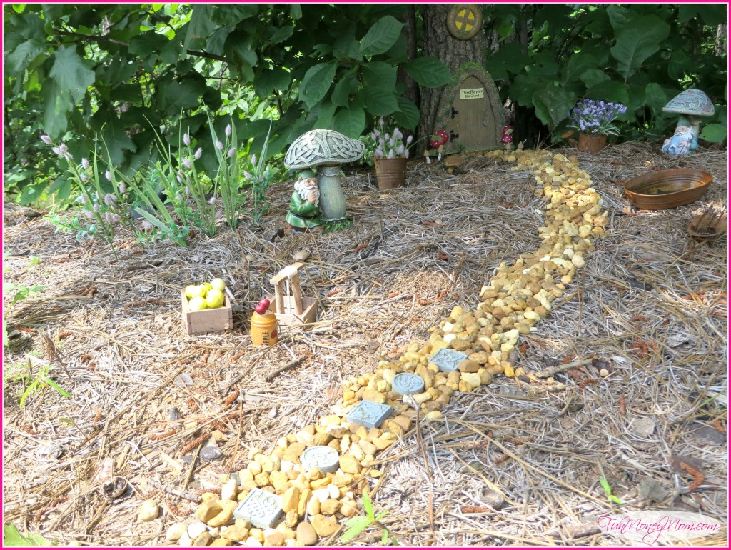 Indulging Looks Like Gnomes Like Ir New Home How To Create An Gnome Village Money Mom Gnome Garden Village garden Gnome Garden Village