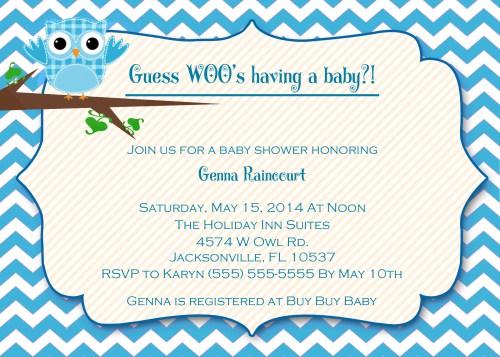 Medium Of Baby Boy Shower Invitations