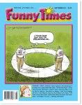 September 2013 Funny Times issue cover