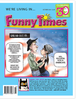 Funny Times October 2016