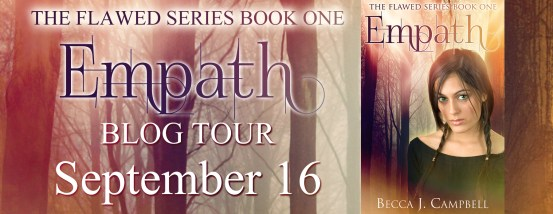 Empath blog tour banner