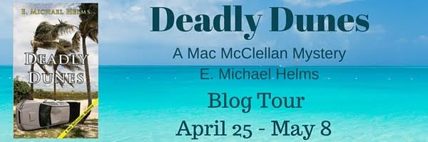 deadly dunes blog tour banner