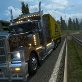 euro truck simulator 2 icin kenworth w900