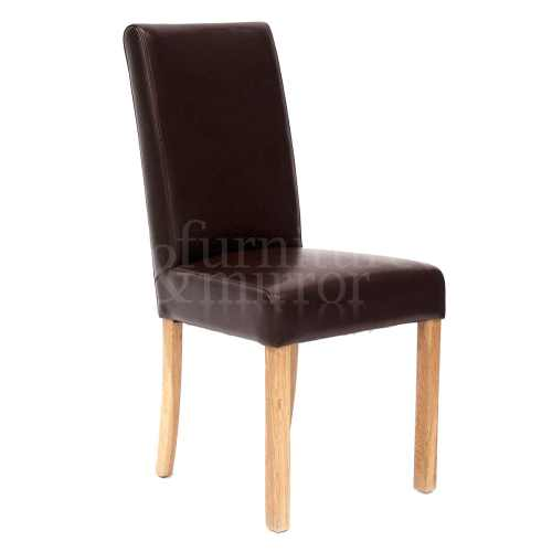 tan leather tub chair furniture and mirror