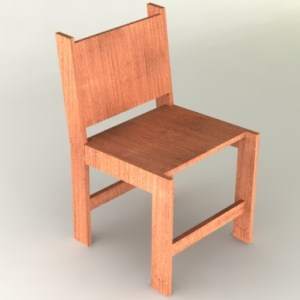 Full Render Chair 00008-only