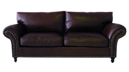 custom made leather lounge, whittle leather lounge, furniture