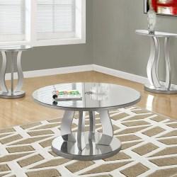 I 3725 Mirrored Coffee Table Furtado Furniture