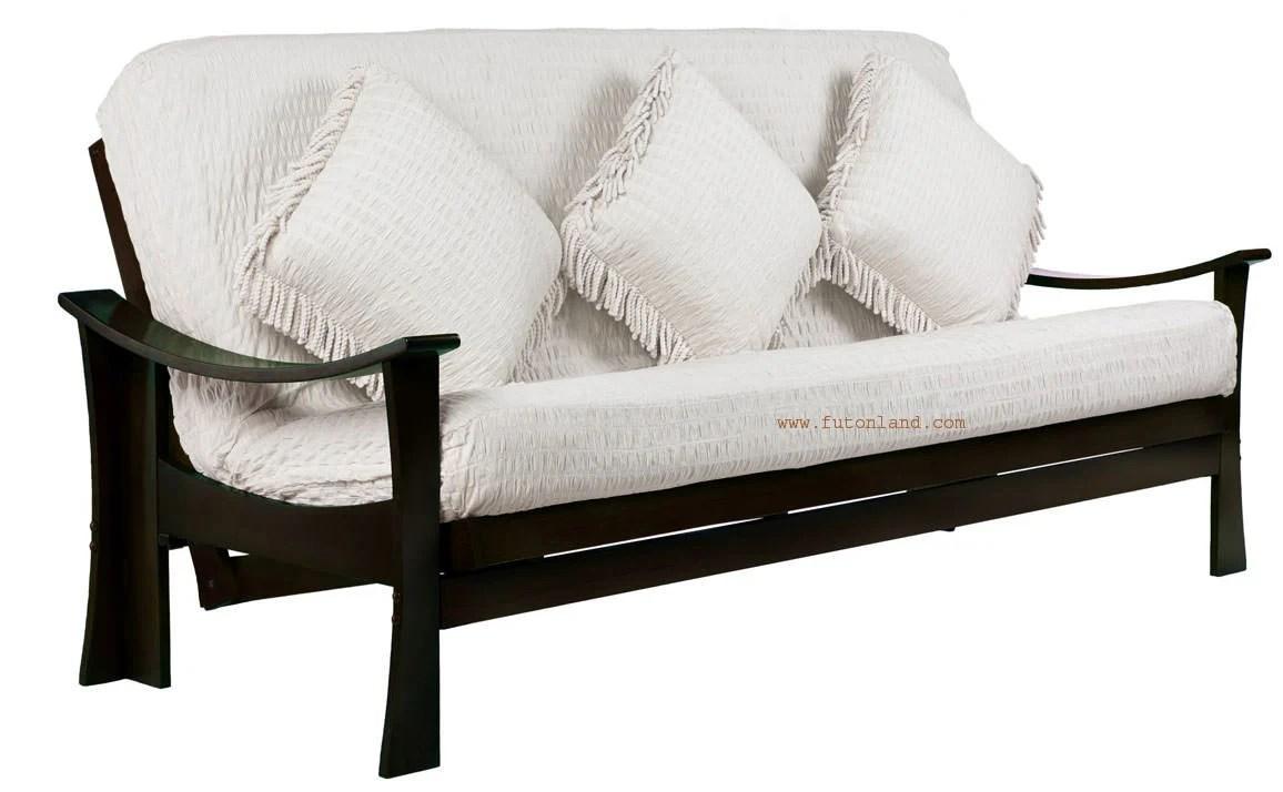 Examplary Deco Queen Size Java Futon Frame By Prestige Queen Size Futon Couch Queen Size Futon Cover houzz 01 Queen Size Futon