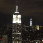 Between the Empire State Building and One World Trade Center the entire Lower Manhattan was without power.