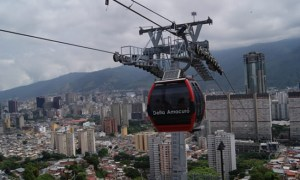 cable car in Caracas