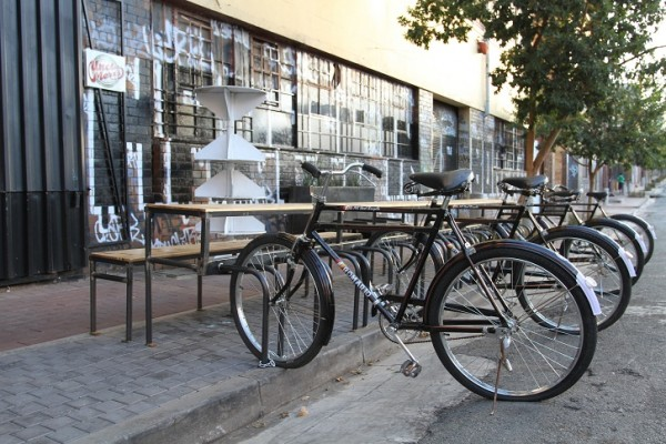 Its inner-city (Maboneng Precinct)