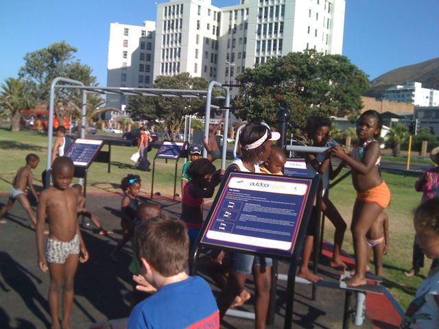 The Sea Point Promenade's Urban Park