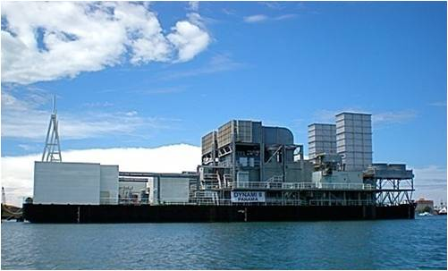 An Independent Power Project (IPP) that operates nine (9) barge-mounted gas turbines, producing 270MW of electricity. Image: www.lagosstateppp.gov.ng