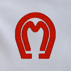 The horseshoe M brand is the trademark of the Mangalarga Marchador that is recognized world-wide.