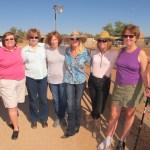 Attending both birthday parties!  Marilyn, Jane, Katie, Sandy, Lynn, Ann