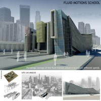Fluid Motions School - Cal Poly - Jie Liang