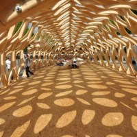 The Bowooss Bionic Inspired Research Pavilion - Saarland University