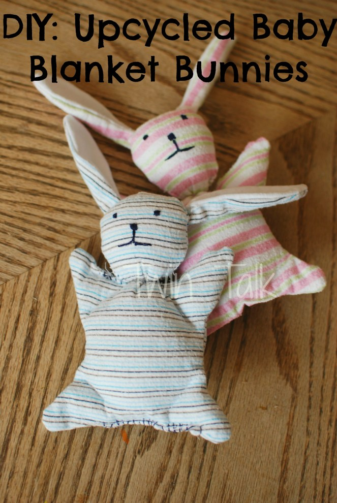 DIY: Upcycled Baby Blanket Bunnies