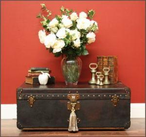 Vintage decorative storage chest