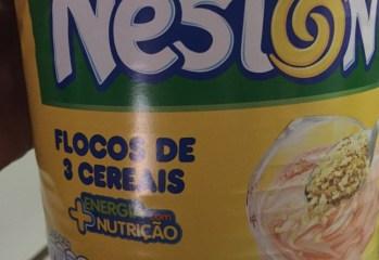 Neston 3 Cereais Nestlé