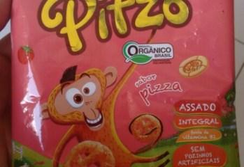 Salgadinho Pitzo Sabor Pizza Orgânico Mãe Terra