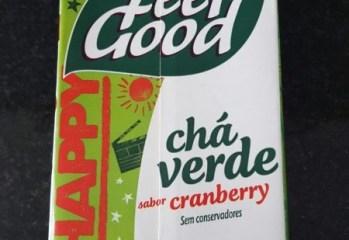 Chá Verde com Cranberry Feel Good