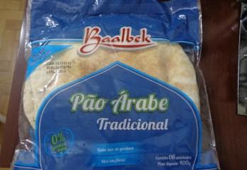 Pão Árabe Tradicional Baalbek