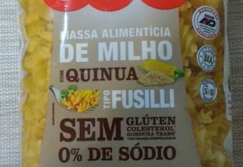 Massa de Milho com Quinua Fusilli Tivva