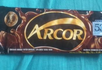 Chocolate Amargo 53% Cacau Arcor
