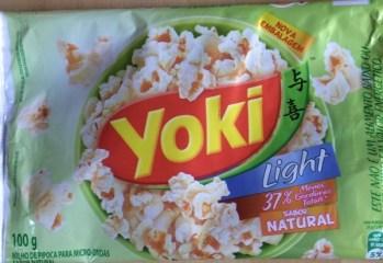 Pipoca para Microondas Natural Light Yoki