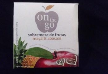 Sobremesa de Frutas Maçã e Abacaxi On The Go